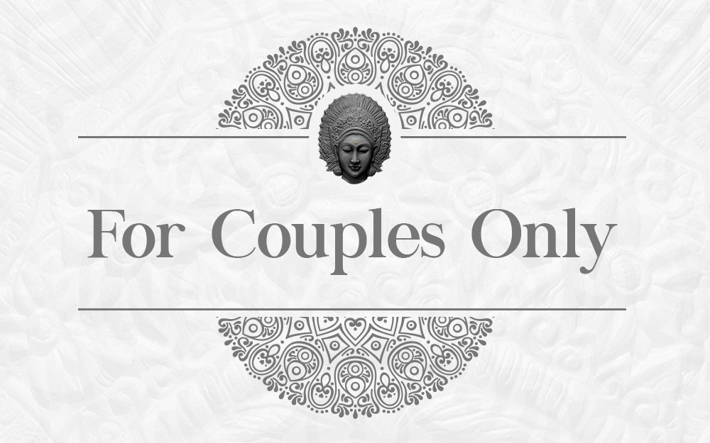 Menu for couple only