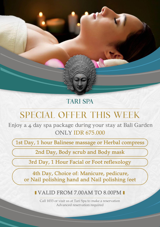Tari Spa Spa Of Bali Garden Beach Resort