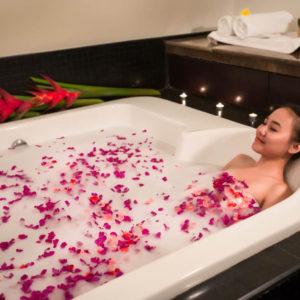 Relaxing Flower Baths